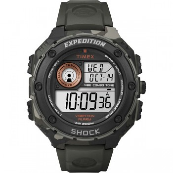TIMEX T49981 Vibe Shock Expedition outdoorové hodinky