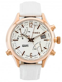 Timex TW2P87800 Intelligent Quartz World Time unisex hodinky